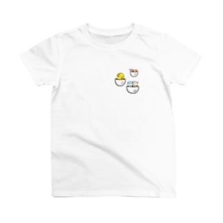 ポケット入りタビオトモ T-shirts