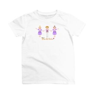 白鳥の湖 パ・ド・トロワ T-shirts