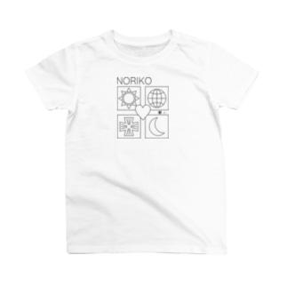 ユニバース 黒線 名前入れます。 T-shirts