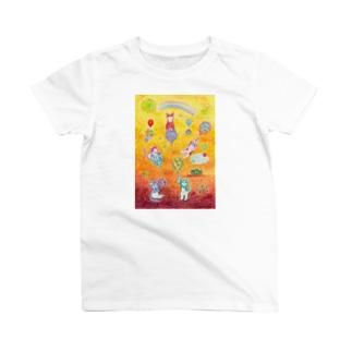 今日は風船遊びの日 T-shirts