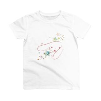 さくらいろのうさぎのメンヘラうさぎ T-shirts