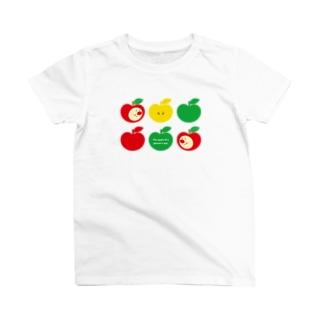 りんごちゃん(No.3) T-shirts