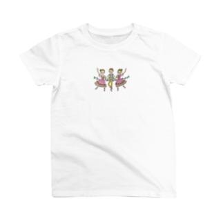 パ・ド・トロワ「白鳥の湖」 T-shirts