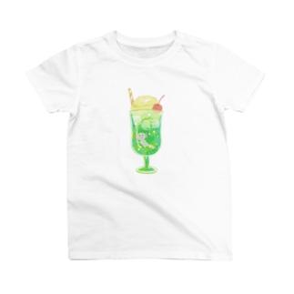 クリームソーダとウーパールーパー T-shirts