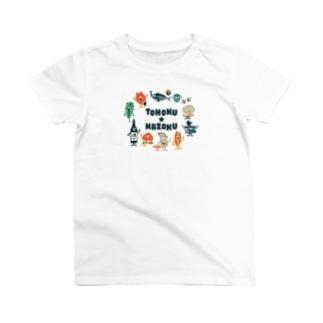東北☆家族 集合 T-Shirt