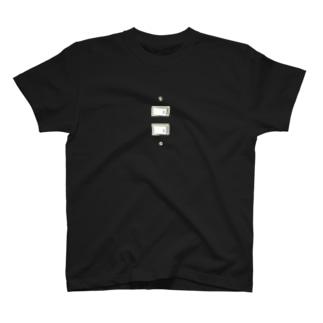 謎のスイッチ Tシャツ