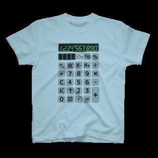 achifujimuraの電卓 CalculatorTシャツ