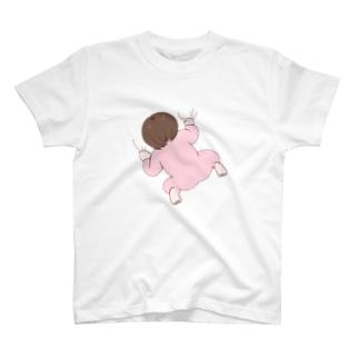 はりつくちいさいの Tシャツ