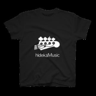 hidekaMusicのhidekamusic/special UFO edition Tシャツ