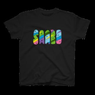 SAABOのTornTorn Tシャツ