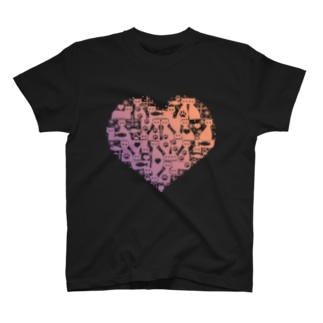 Cattower [Pink to Purple] Tシャツ
