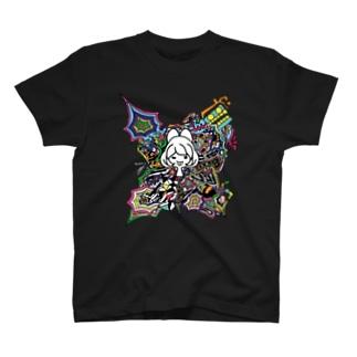 tiyo + kaeruma Tシャツ
