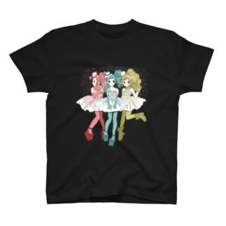 コメットの少女たち Tシャツ