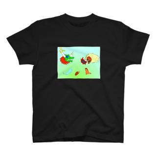 心の憎悪 T-shirts