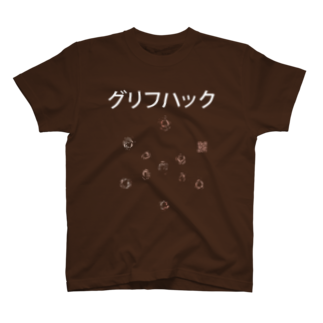 ingressのglyph hack practiceTシャツ