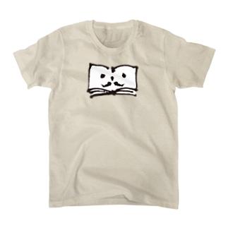 ヒゲのブックン Tシャツ
