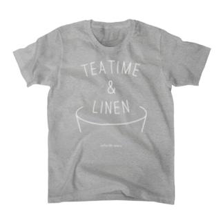 TEA TIME&LINEN Tシャツ