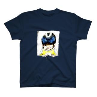 ヤノベケンジ《サン・チャイルド》(ぷるぷる) Tシャツ