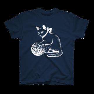 金星灯百貨店のボール遊び 白線 Tシャツ