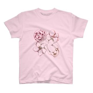 flower_001 Tシャツ
