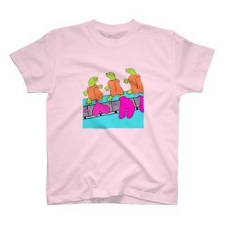 ハートメイカー・ポンピ T-shirts