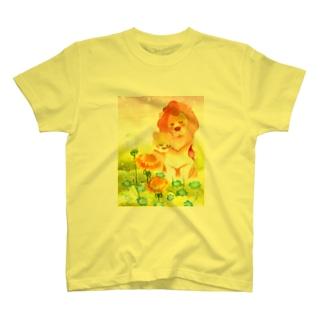 たんぽぽとライオン Tシャツ