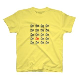張子犬はんこ Tシャツ