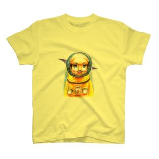 《トらやんの世界》(心に想うことはいつかほんまに起こるんや) Tシャツ