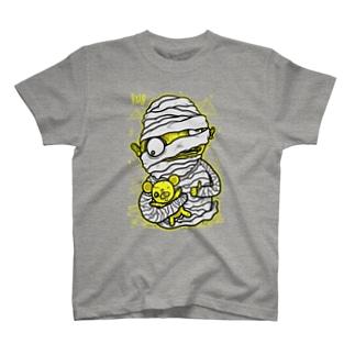Mummy with Stinky Teddy Tシャツ