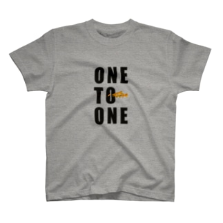 ONE TO ONE(ロゴ) Tシャツ