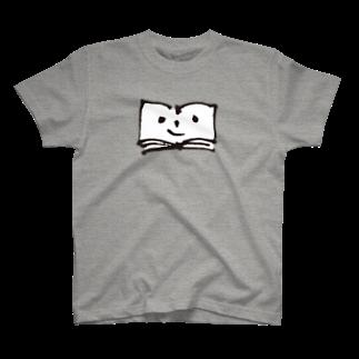 ブクログのお店のふつうのブックン Tシャツ