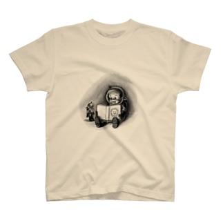 ヤノベケンジ《トらやんの大冒険》(絵本とトらやん) Tシャツ