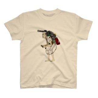 サイバー爺さん要介護 Tシャツ