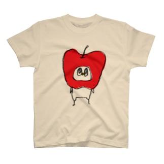 an apple Tシャツ