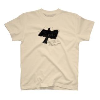 二羽の鳥 Tシャツ