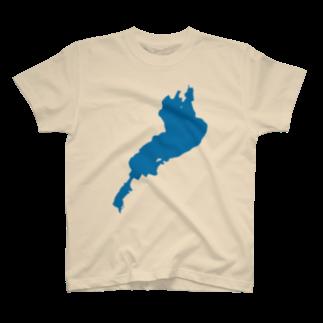 釣活の琵琶湖 Tシャツ