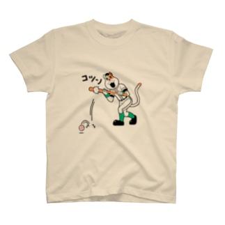 ネコやん(送りバントver) Tシャツ