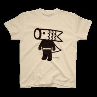 こいのぼりマン@加須市のこいのぼりマン Tシャツ