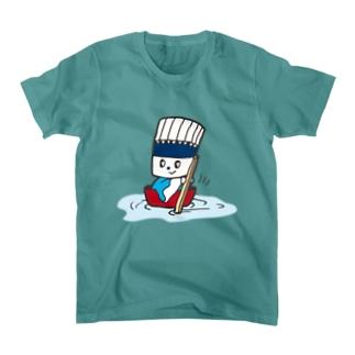 そうめん侍「どんぶらこっこ」 Tシャツ