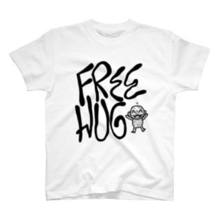 FREE HUG Tシャツ
