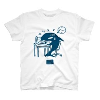 社畜のシャチくん Tシャツ