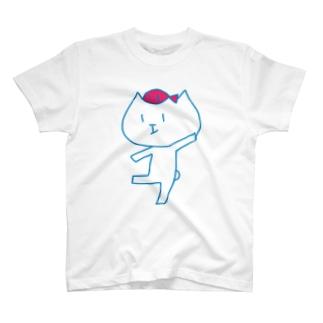 へんなねこ Tシャツ