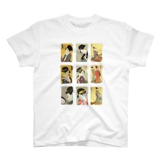 歌麿C Tシャツ