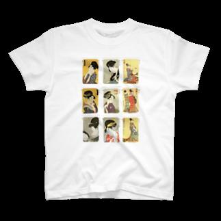 安永峰夫の歌麿C Tシャツ
