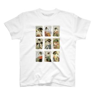 歌麿D Tシャツ