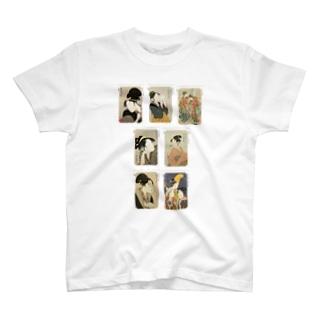 歌麿E Tシャツ