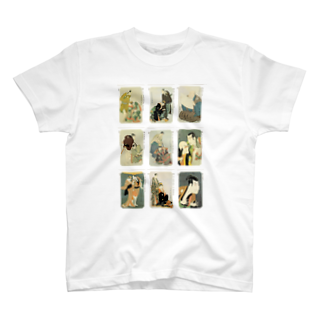 安永峰夫の写楽BTシャツ
