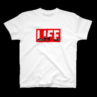 2753GRAPHICSのBASSLIFETシャツ
