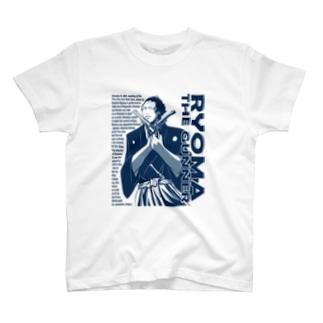 RYOMA THE GUNNER (NAVY) Tシャツ