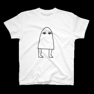 Sylvia T Egyptのメジェド神 Tシャツ